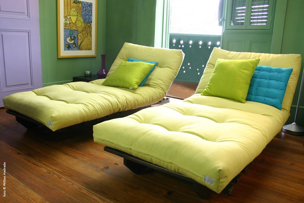 sofá-cama futon relax