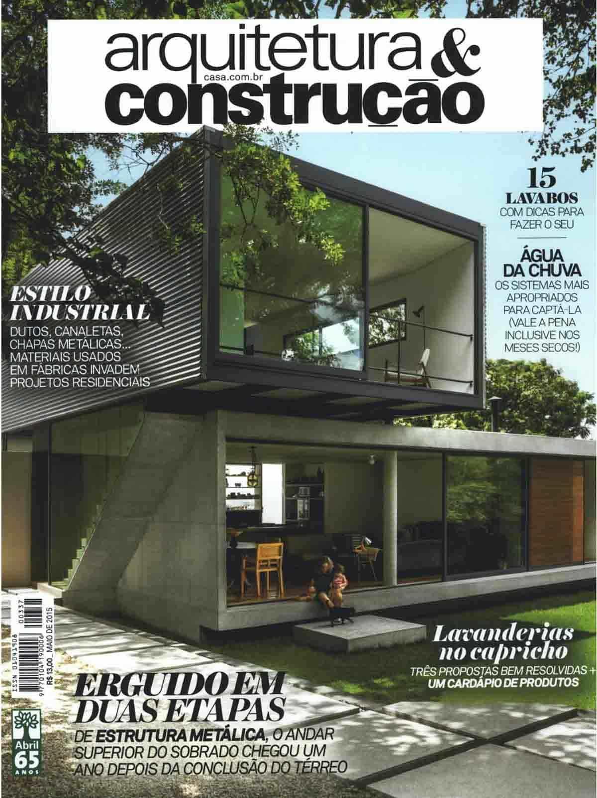 Revista Arquitetura e Construcao Maio 01
