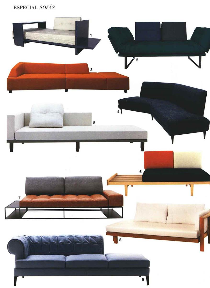 Sofá-cama Oslo elegante