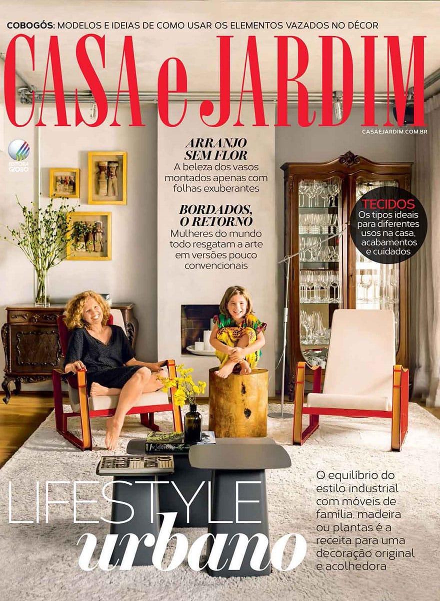 Almofada classic preta e branca 03 2016 futon company for Casa jardin revista