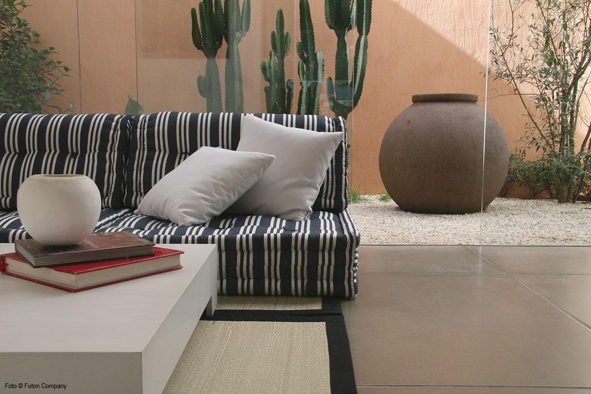 sofá modular moov varanda listrado