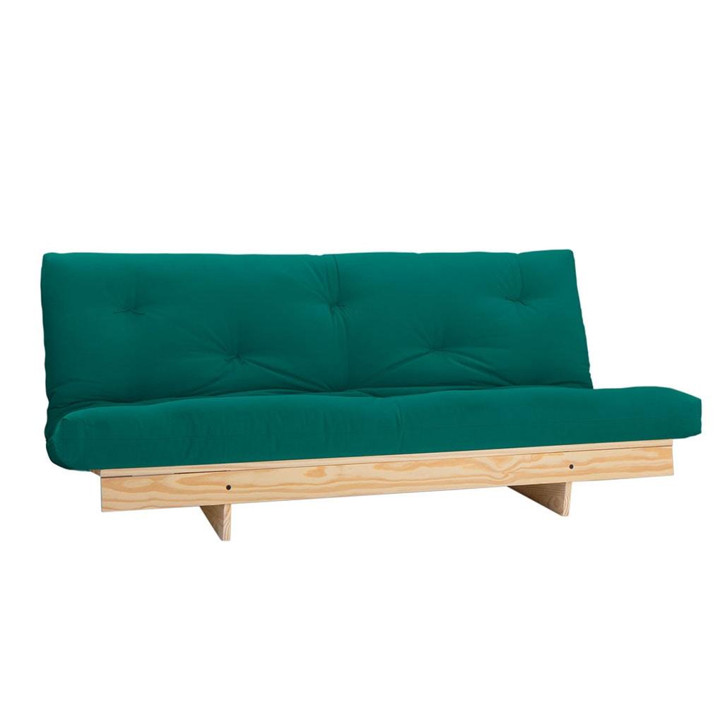 Sofa de futon futon company - Sofa cama verde ...