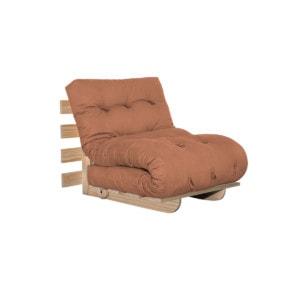 Sofa cama BYO Solteiro 80 Sarja Peletizada Laranja sertao 02