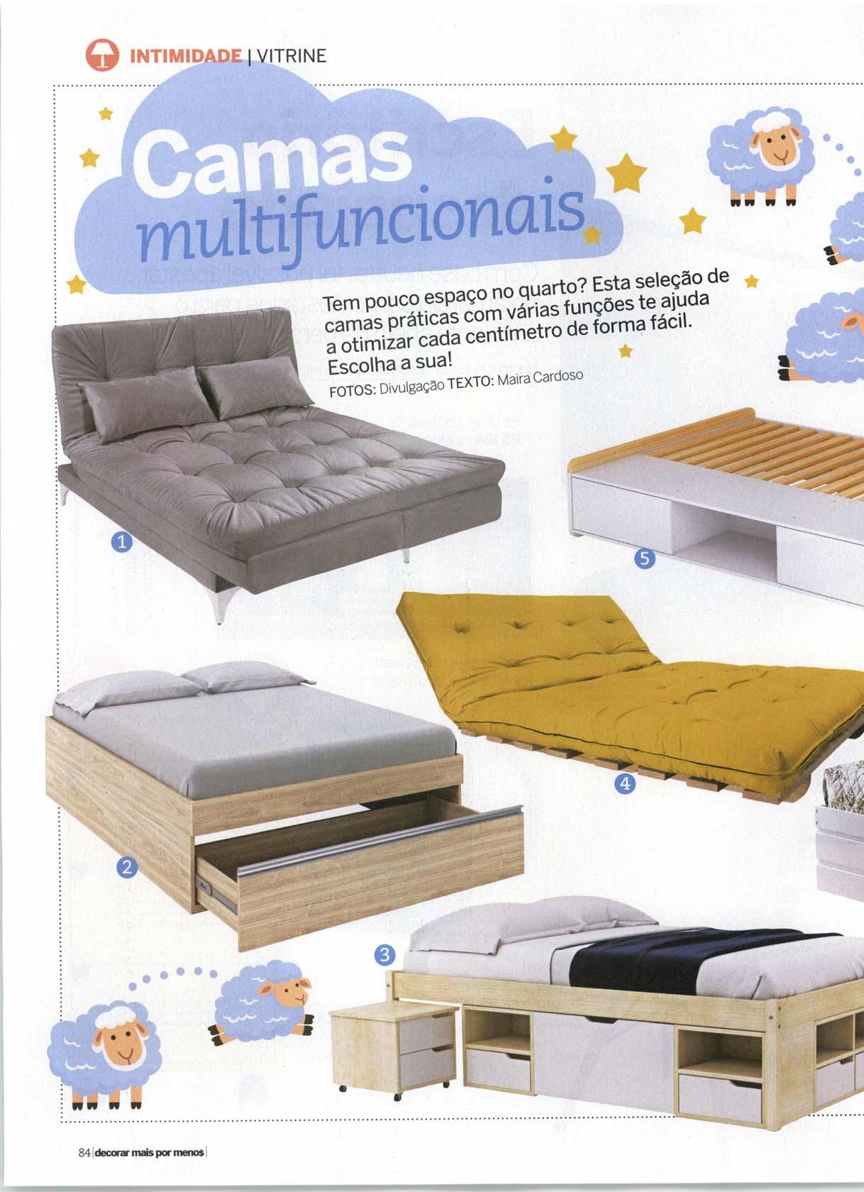 sofa cama B.Y.O- Revista Decorar Mais por Menos-nov-2017