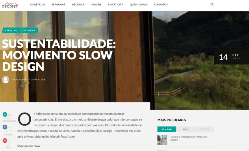 Slow design- design sustentavel-futon company-home decore-dez 2017