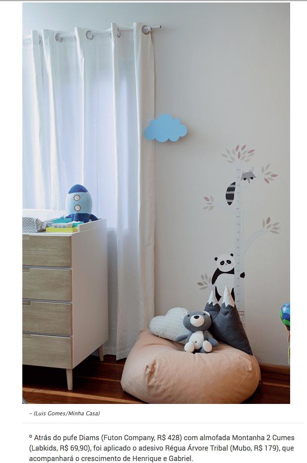 pufe diams infantil- minha casa-dezembro 2017