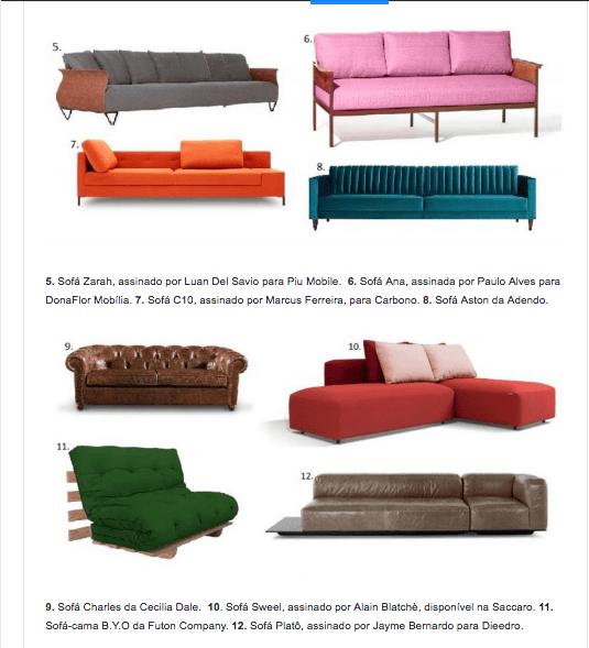 sofá-cama B.Y.O da Futon Company-Revista News- 12fev2018