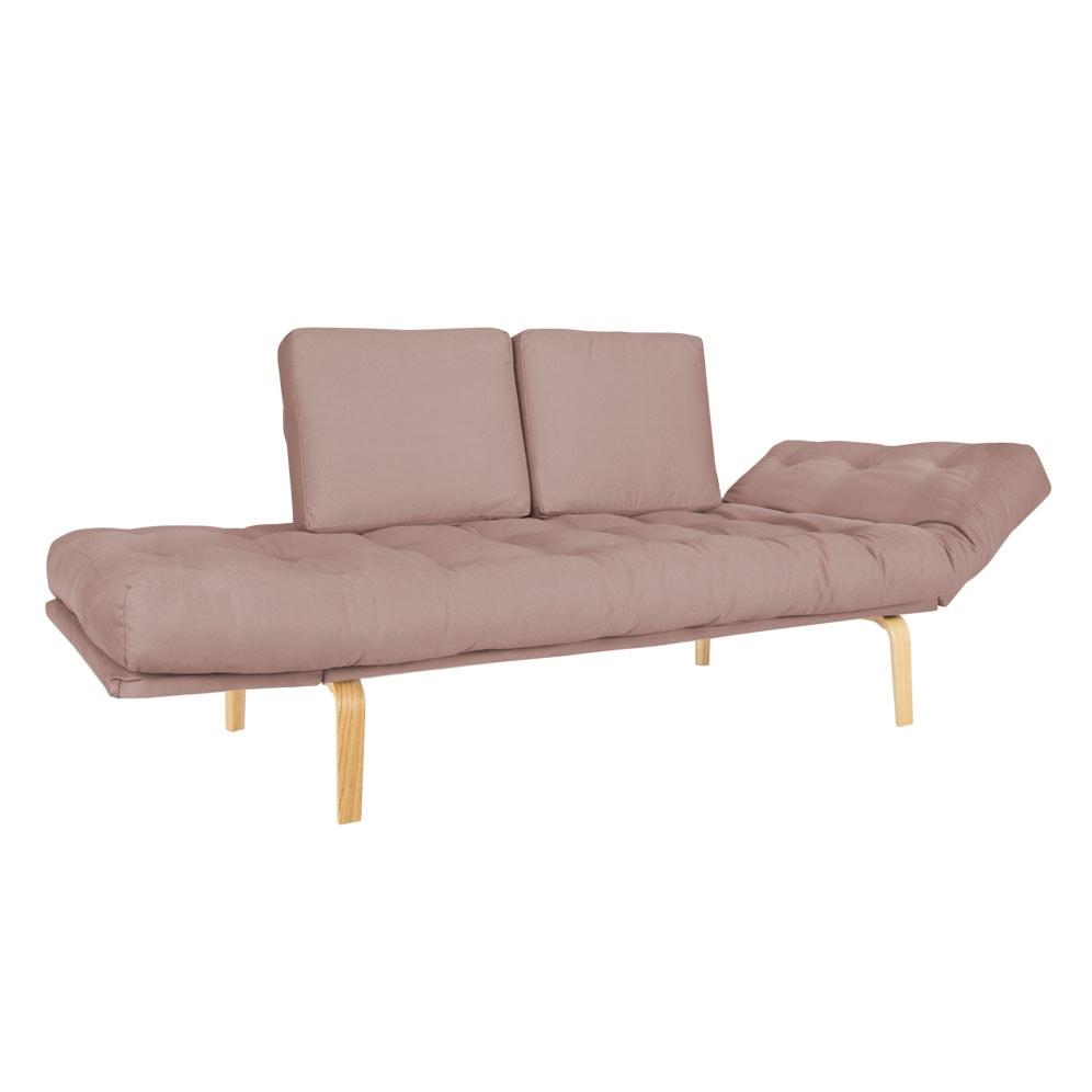 Sofa cama Nordico Oslo Nordico Tecido Sarja Rosa-cha-02-01