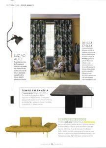 sofá-cama clássico Oslo-Revista Casa e Jardim - julho 2018
