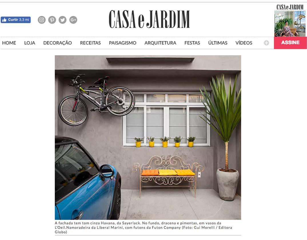 Clipping CASAEJARDIM 2409 Amarelo