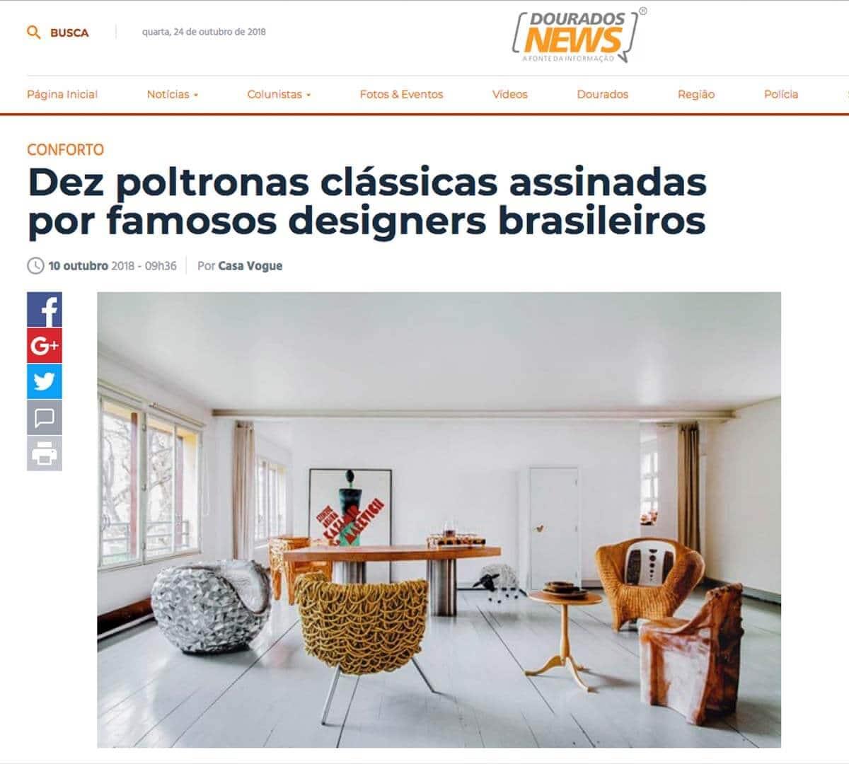 Clipping DouradosNews 1010 FDC1
