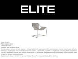 Clipping ELITE 2709 PaulistanoAco