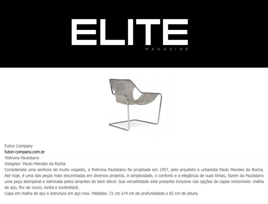 Clipping ELITE 2709 PaulistanoAco