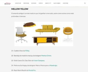 Clipping HomeDecore 1909 NeoMint