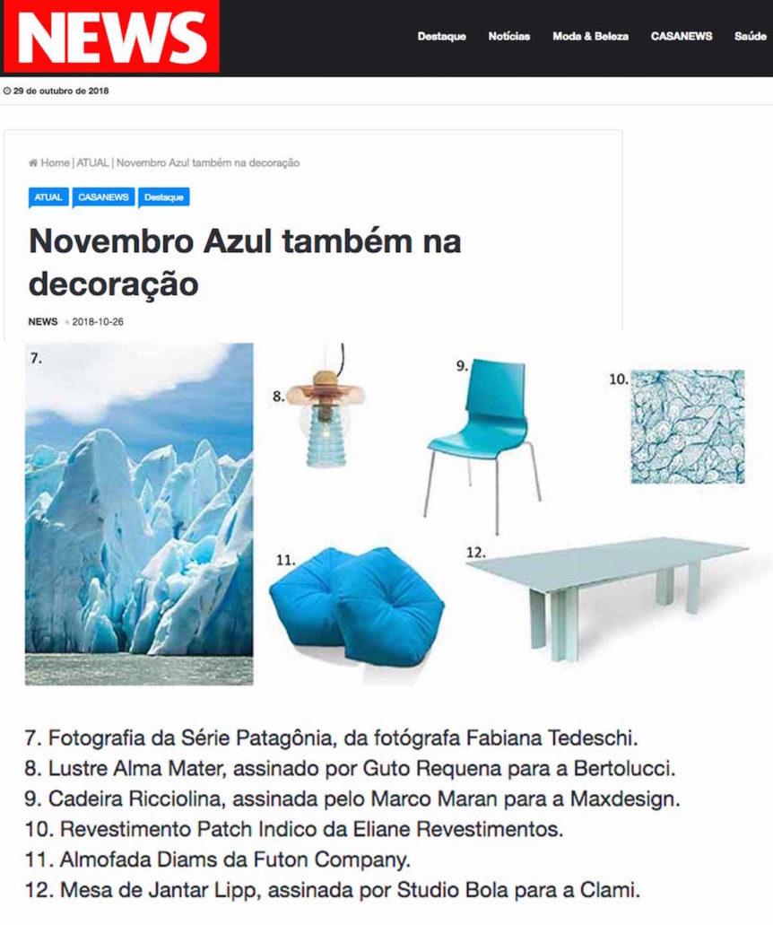 Clipping RevistaNews Novembro Azul Out 2018