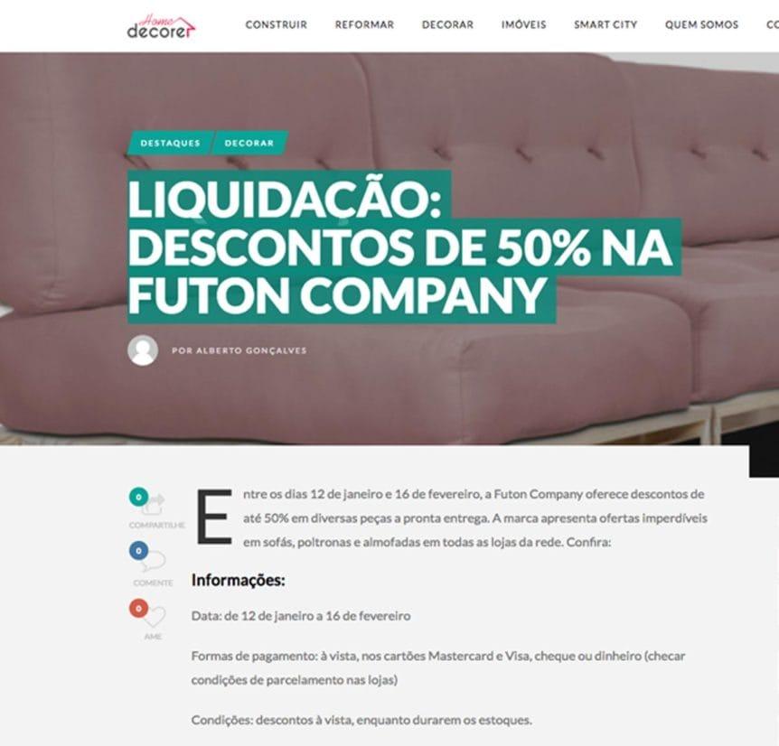 Clipping HomeDecore Liquidação jan 2019