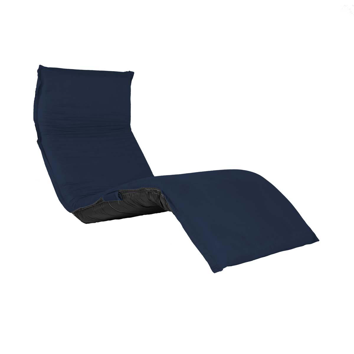 Chaise ClicClac Uno Lounge Tecido Suede Azul Marinho 02 03