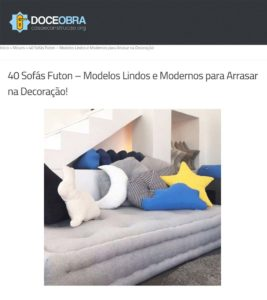 Clipping Doce Obra Futon mar 2019