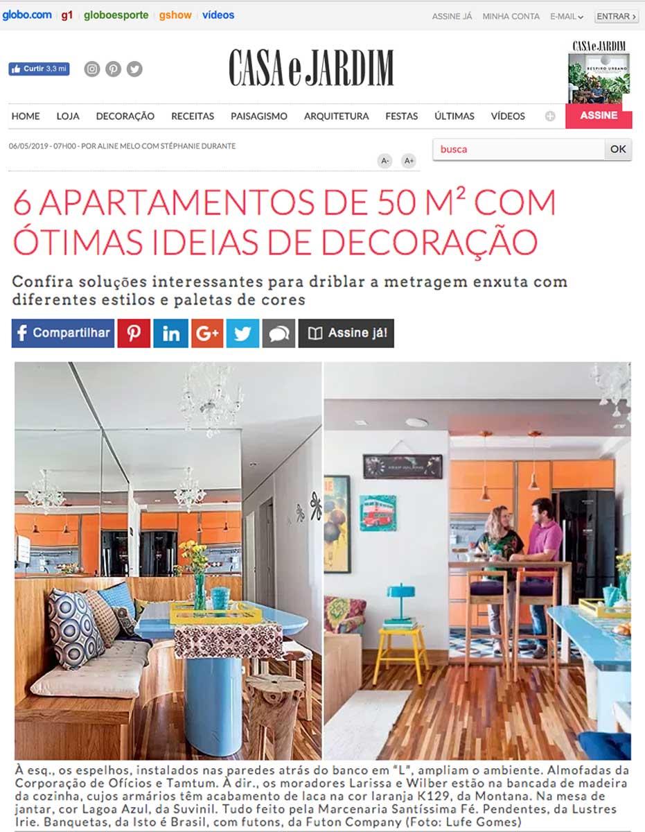 Clipping Casa e Jardim 50m mai 2019