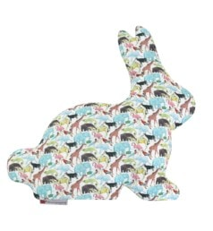 Almofada Coelhinho Tecido Liberty Zoo 01