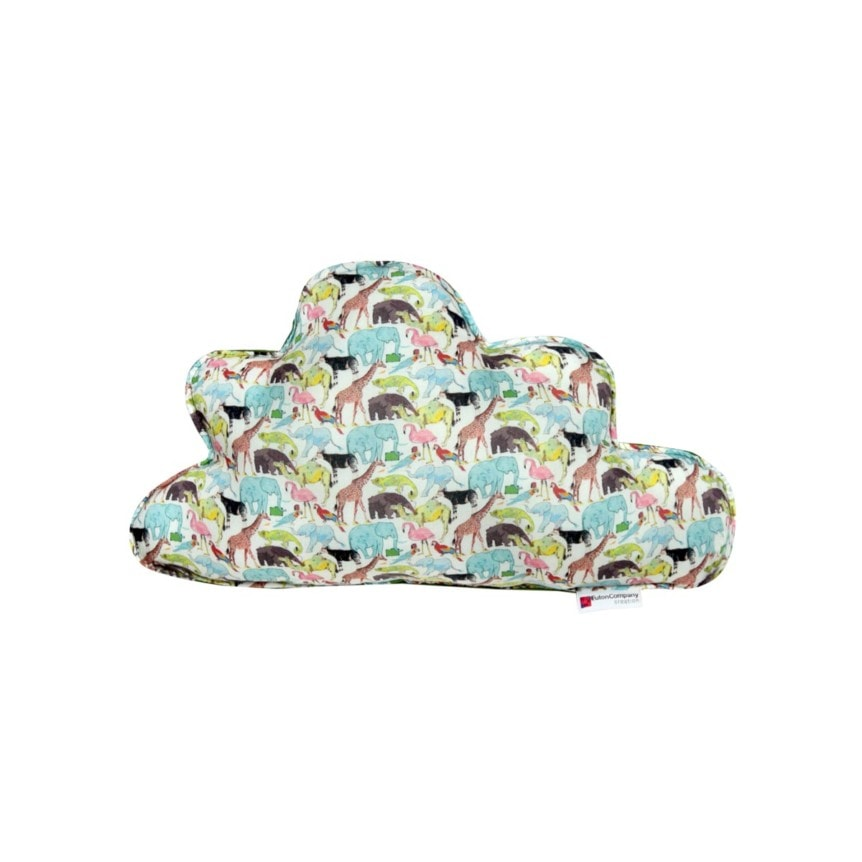 Almofada Nuvem M Tecido Liberty Zoo 01 F