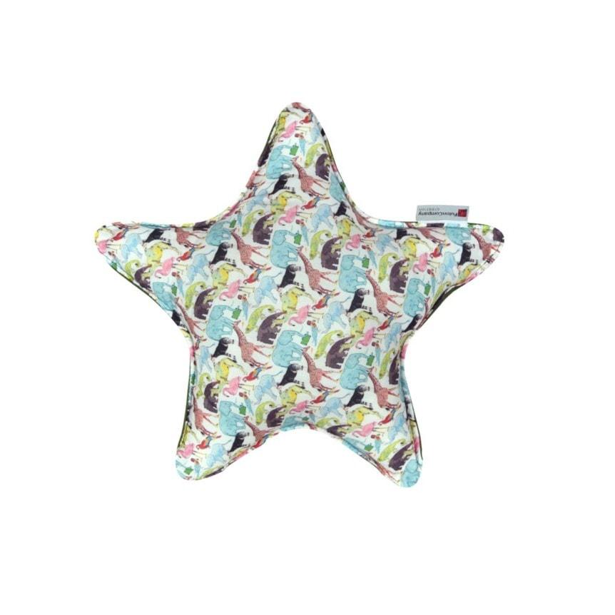 Almofada Star M Tecido Liberty Zoo 01 F
