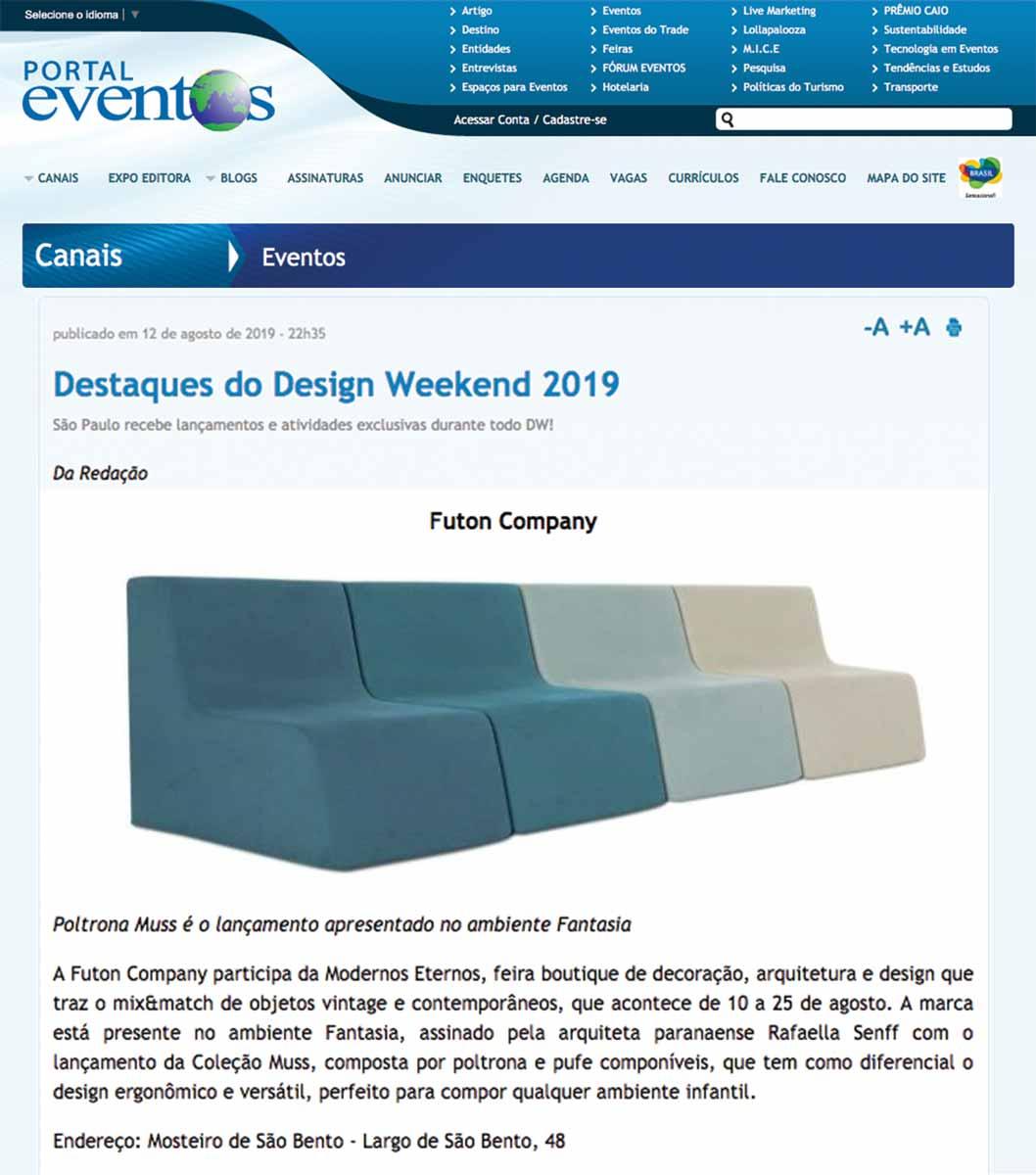 Clipping PortalEventos ModernosEternos ago 2019
