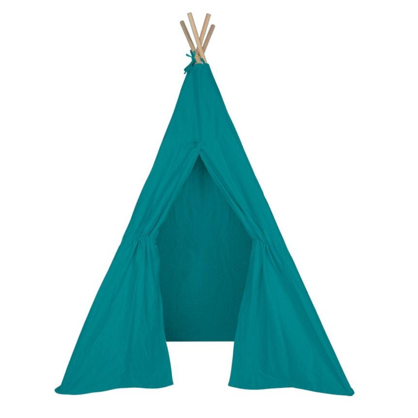 Cabana Tipi Tecido Sarja Azul Tiffany 02