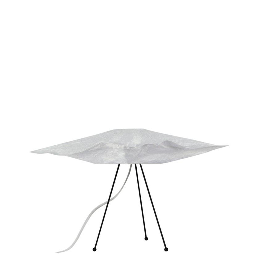 luminaria de mesa papel Nubo 45 Inout tripé 30