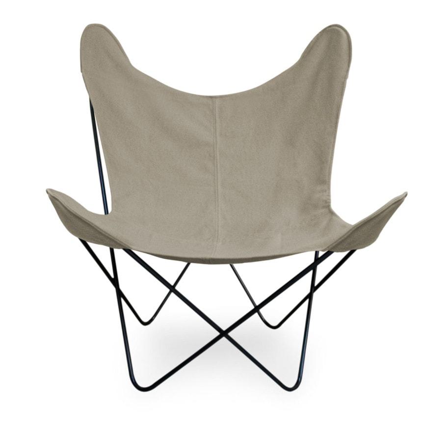 Cadeira BUTTERFLY Preta Lonita-45 Grege frente