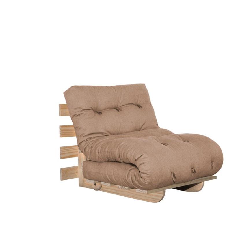 Sofa cama BYO Solteiro New Canvas Champanhe-02