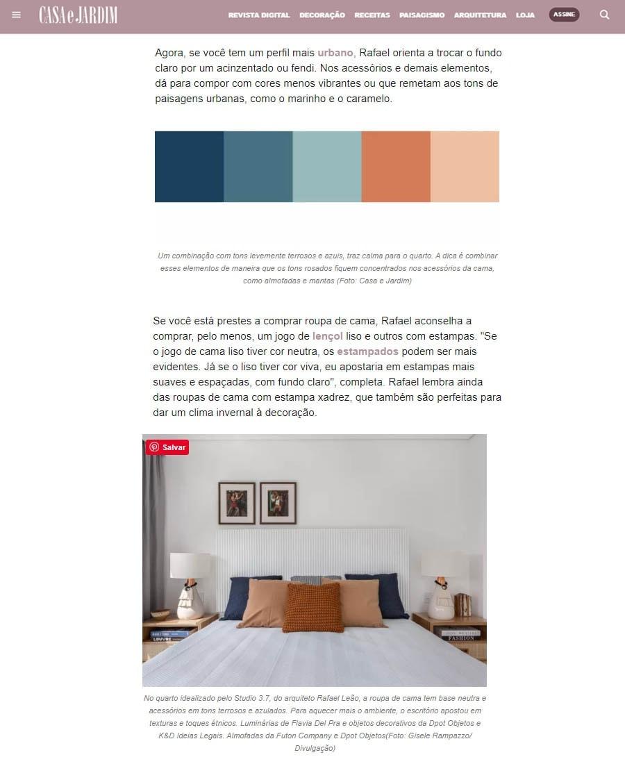 paleta de cores infalíveis para seu quarto - futon company