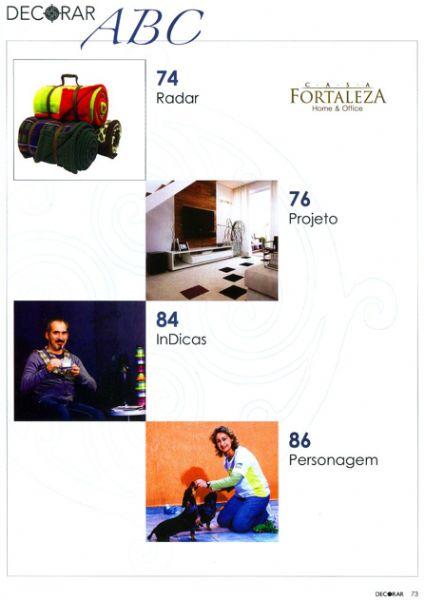 Almofada Classic Decorar - Junho 2011 Foto 1