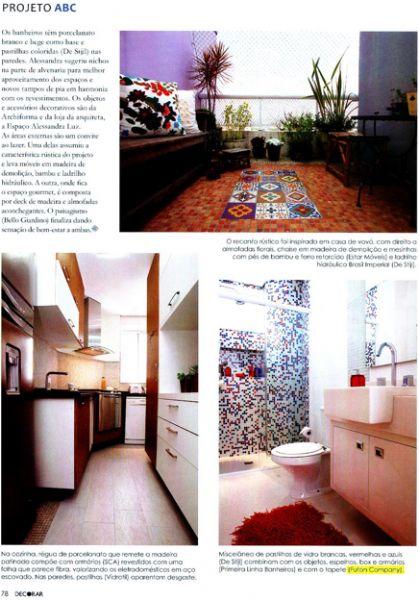 Almofada Classic Decorar - Junho 2011 Foto 3