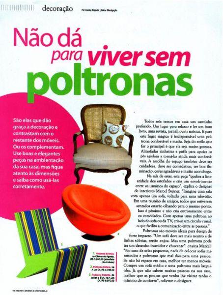 Poltrona-cama solteiro Pool Moema & Campo Belo - Maio 2011 Foto 1