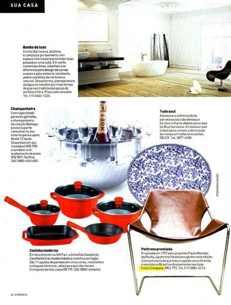 Poltrona Paulistano A Tribuna Revista - Fevereiro 2012 Foto 1