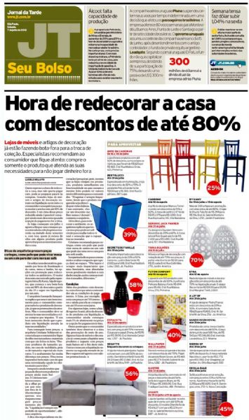 Poltrona Pelicano michel arnoult Jornal da Tarde - Julho 2012 Foto 1