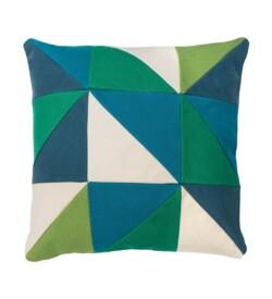 almofada de patchwork