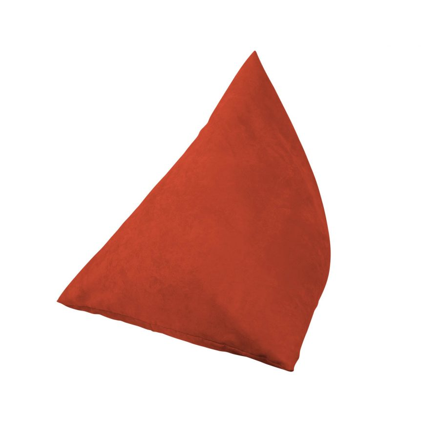 almofada encosto triangular