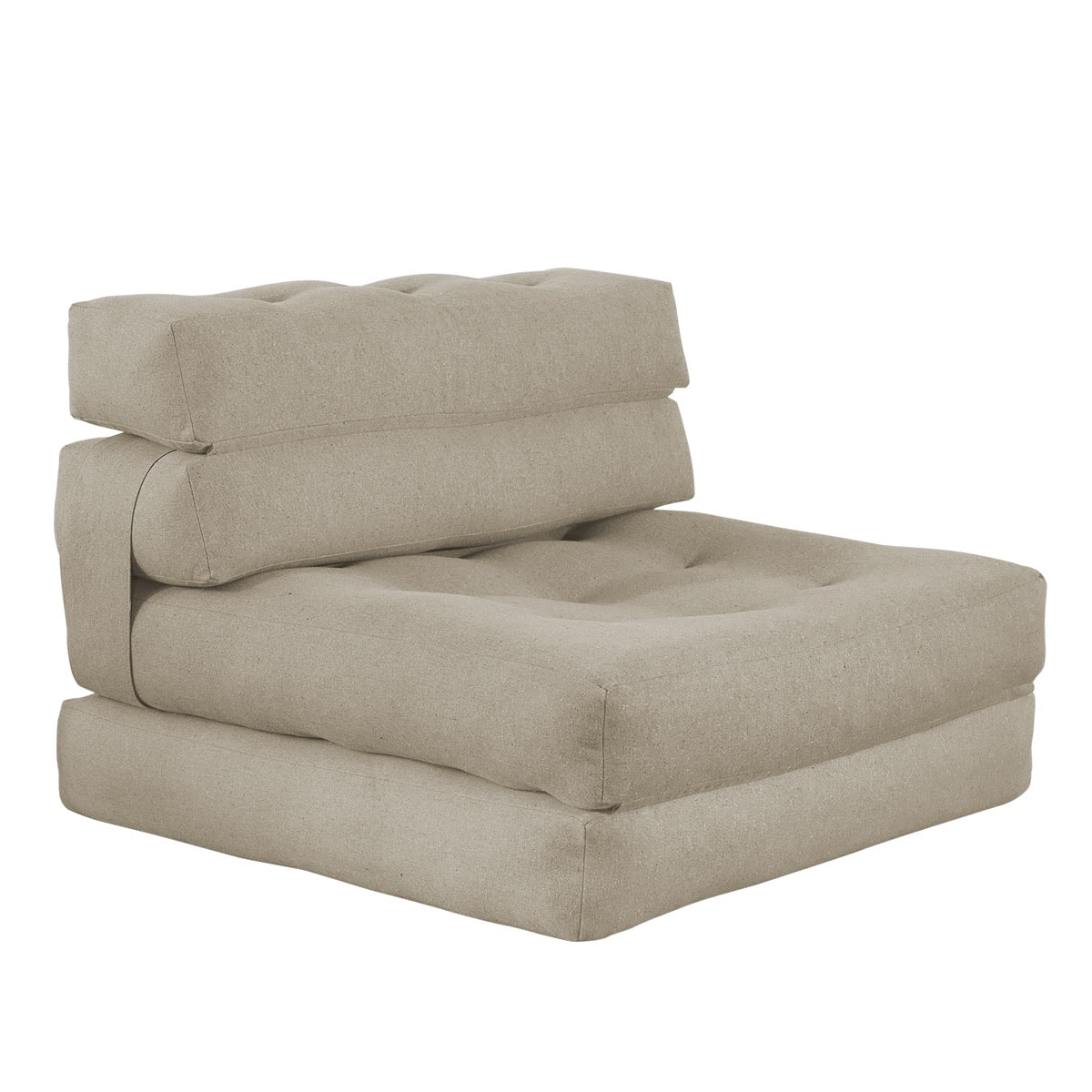 poltrona com puff futon company