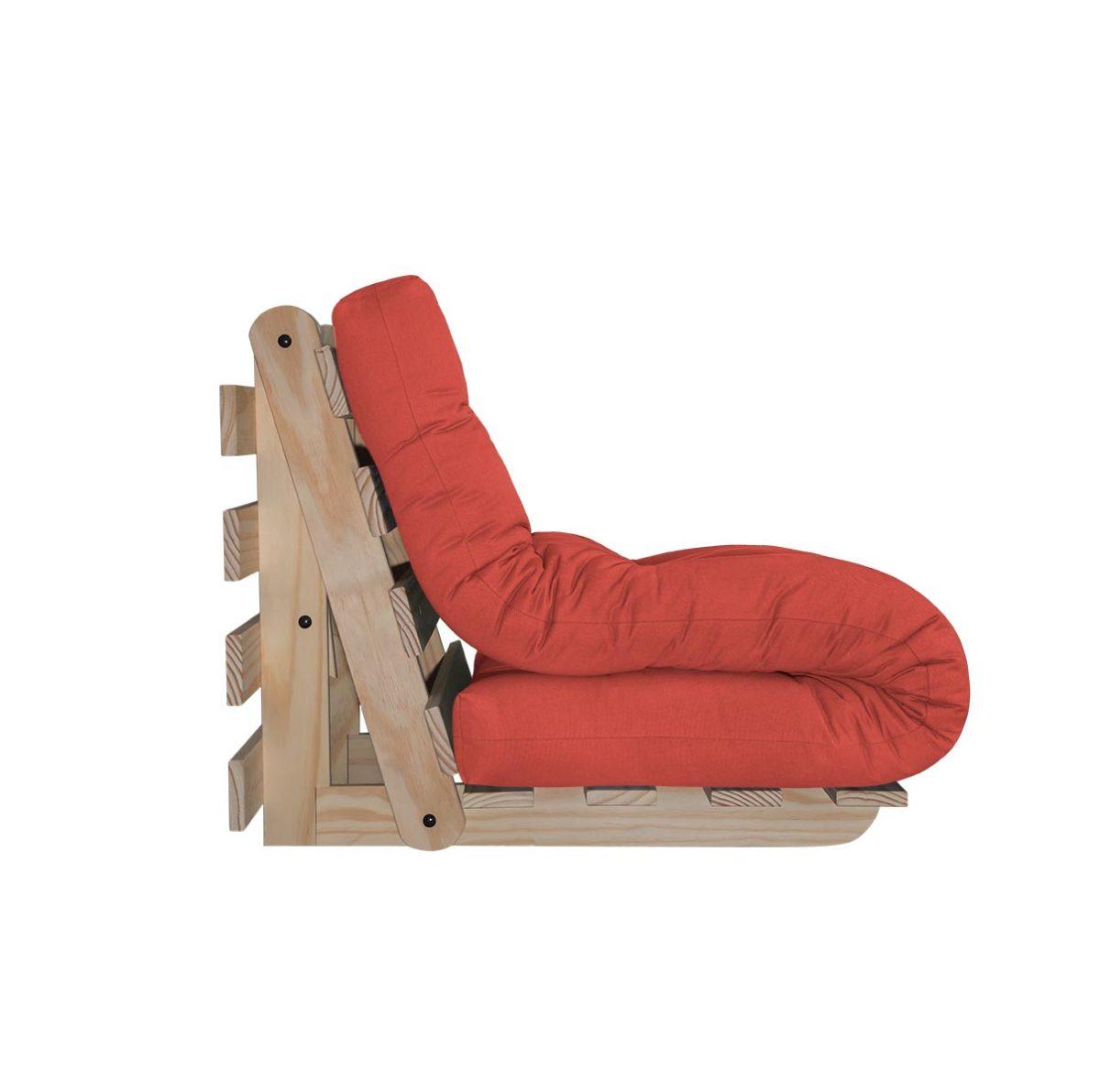 Poltrona cama individual futon company for Cama individual tipo sofa