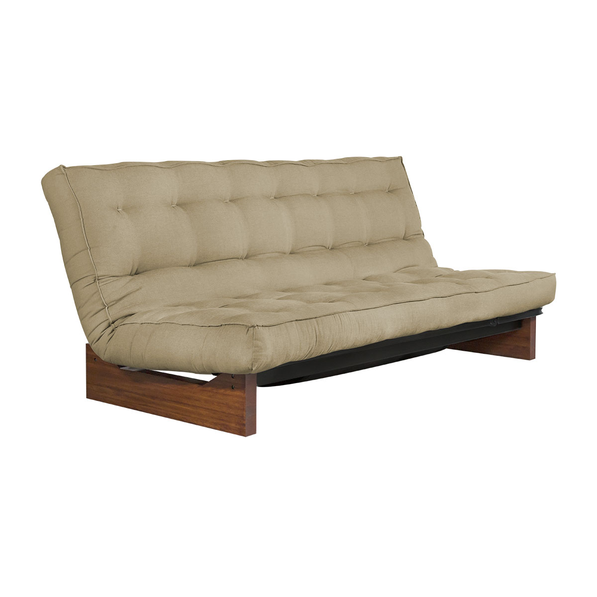 Sofa reclinavel futon company for Sofa cama de dos cuerpos